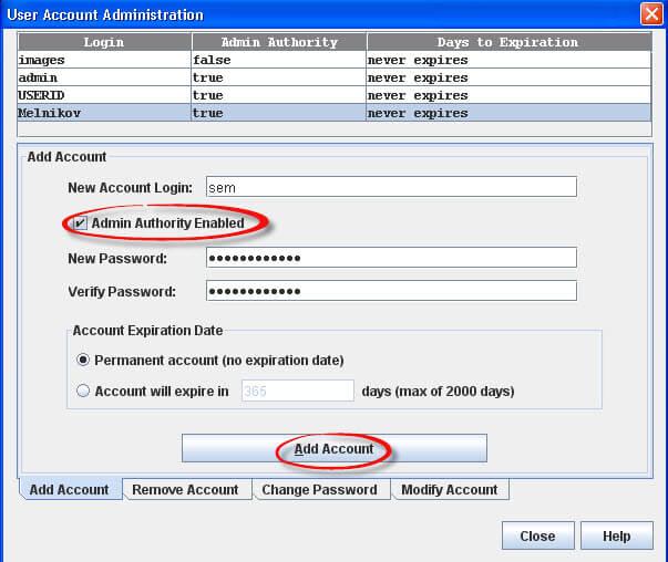 Как создать нового пользователя для IO Module в IBM BladeCenter-03