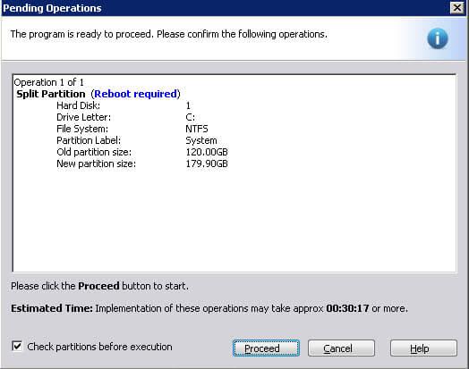 Как сжать системный диск в Windows Server 2008 R2-08