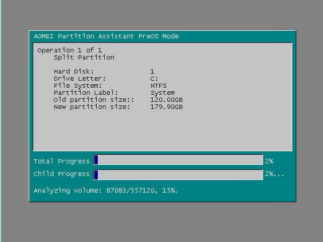 Как сжать системный диск в Windows Server 2008 R2-10