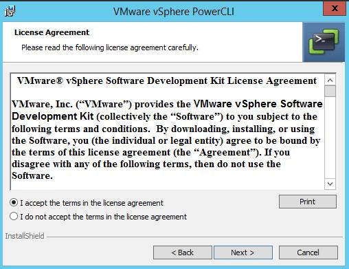 Как установить Vsphere Power CLI-13