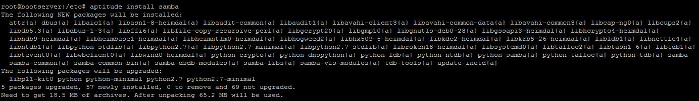 Как установить загрузочный PXE сервер для установки Windows, Linux, ESXI 5.5-05