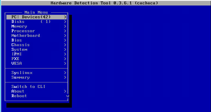 Как установить загрузочный PXE сервер для установки Windows, Linux, ESXI 5.5-14 часть. Добавляем Hardware Detection Tools-05