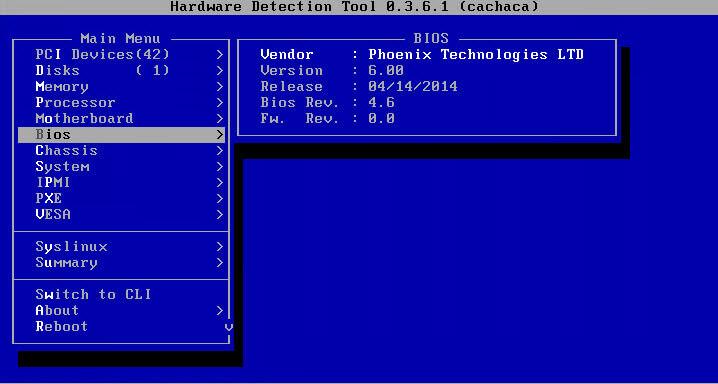 Как установить загрузочный PXE сервер для установки Windows, Linux, ESXI 5.5-14 часть. Добавляем Hardware Detection Tools-06