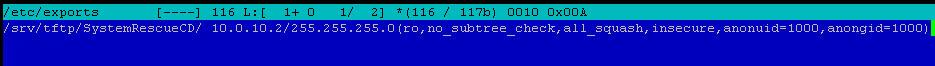Как установить загрузочный PXE сервер для установки Windows, Linux, ESXI 5.5-17 часть. Добавляем SystemRescueCD-09