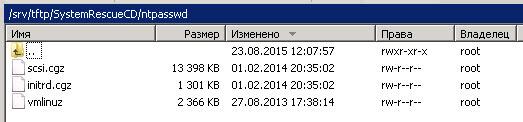 Как установить загрузочный PXE сервер для установки Windows, Linux, ESXI 5.5-18 часть. Добавляем NT Password Registry Editor-03
