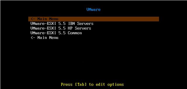 Как установить загрузочный PXE сервер для установки Windows, Linux, ESXI 5.5-25
