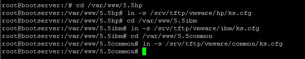 Как установить загрузочный PXE сервер для установки Windows, Linux, ESXI 5.5-5 часть-10