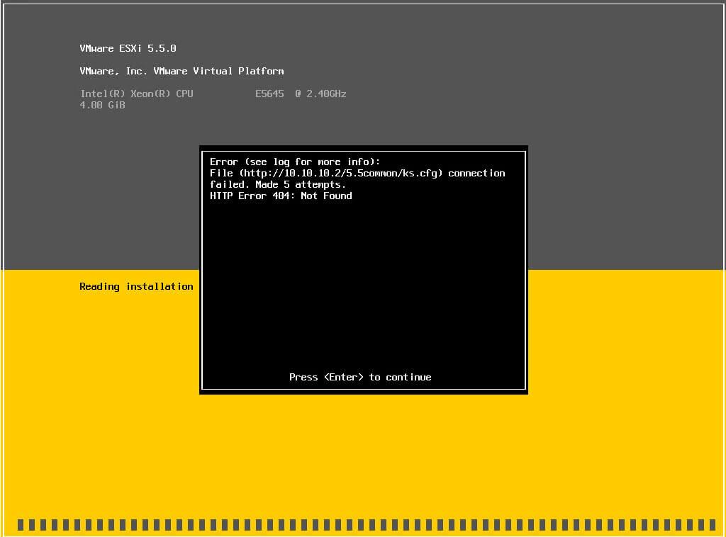 Как установить загрузочный PXE сервер для установки Windows, Linux, ESXI 5.5-5 часть-17