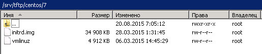 Как установить загрузочный PXE сервер для установки Windows, Linux, ESXI 5.5-7 часть. Добавляем CentOS-06