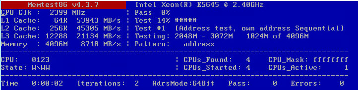 Как установить загрузочный PXE сервер для установки Windows, Linux, ESXI 5.5-8 часть. Добавляем Memtest86+-12