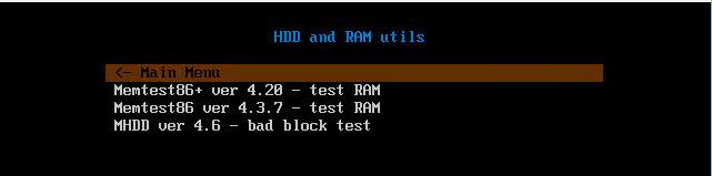Как установить загрузочный PXE сервер для установки Windows, Linux, ESXI 5.5-9 часть. Добавляем MHDD 4.6-05