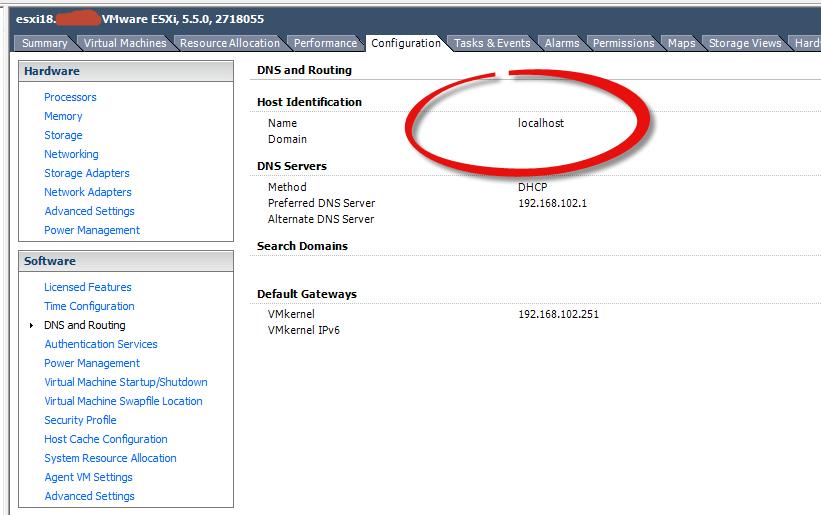 При подключении к MSM LSI ESXI хост определяется как 127.0.0.1-02