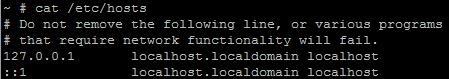 При подключении к MSM LSI ESXI хост определяется как 127.0.0.1-05