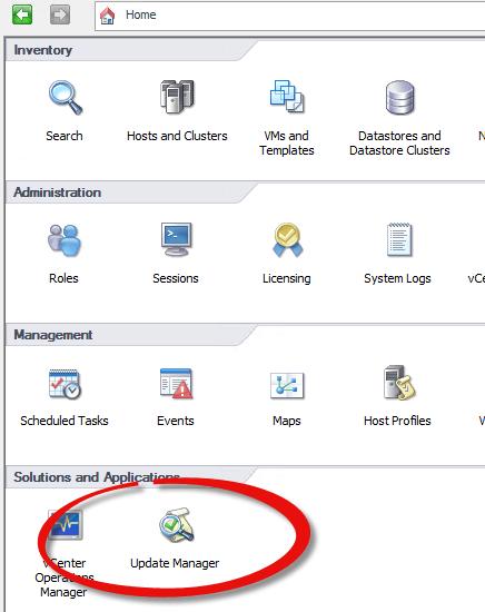 как интегрировать драйвера LSI и MSM в ESXI Update Manager-01