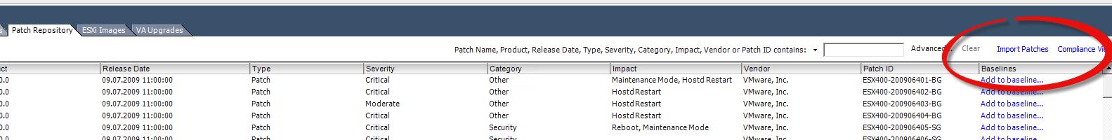 как интегрировать драйвера LSI и MSM в ESXI Update Manager-02