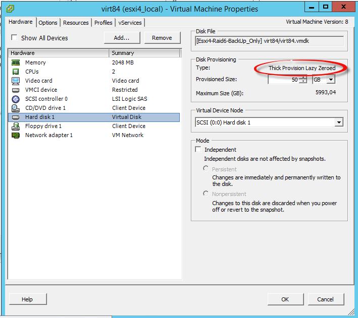 Как мигрировать виртуальную машину на VMware Vcenter 5.5 с сжатием диска и сменой толстого на тонкий формат-02