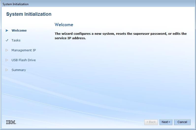 Как настроить IBM Storwize v3700-02