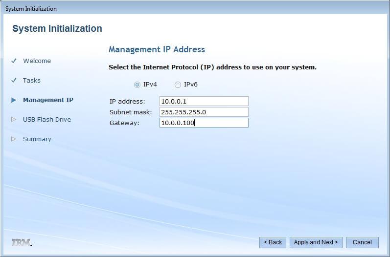 Как настроить IBM Storwize v3700-04