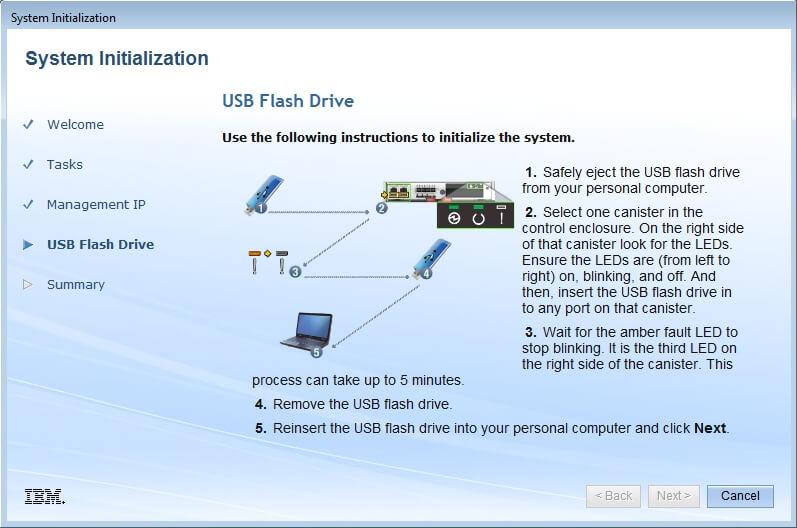 Как настроить IBM Storwize v3700-05