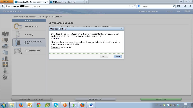 Как настроить IBM Storwize v3700-06