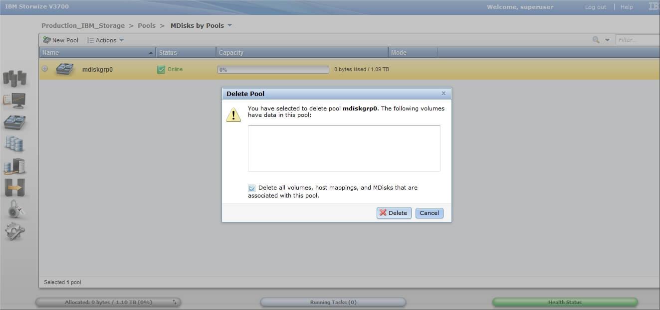 Как настроить IBM Storwize v3700-08