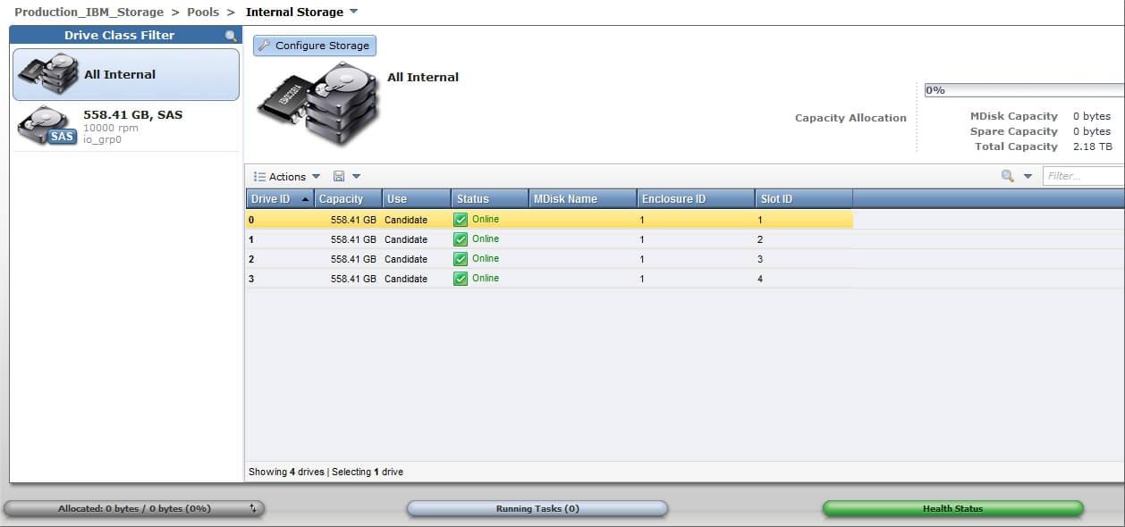 Как настроить IBM Storwize v3700-09