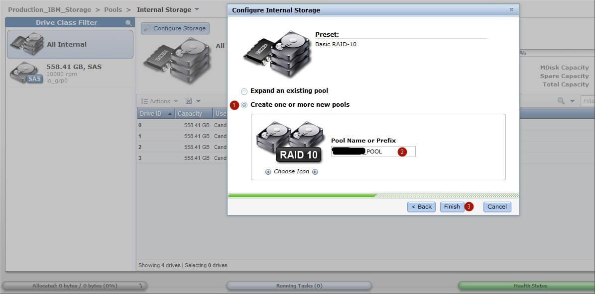 Как настроить IBM Storwize v3700-11