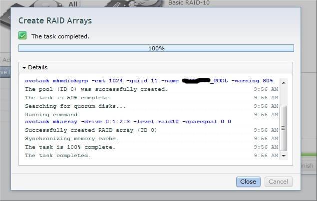 Как настроить IBM Storwize v3700-12
