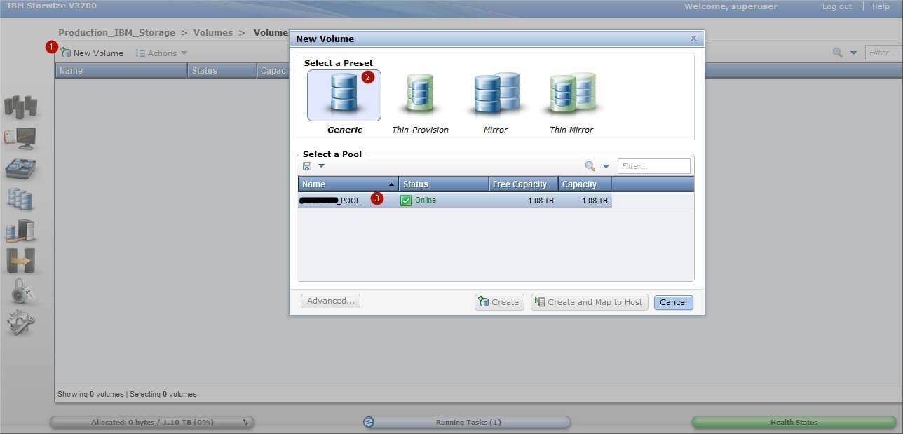Как настроить IBM Storwize v3700-13