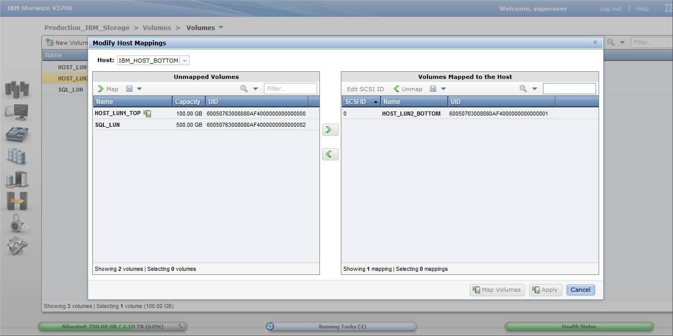 Как настроить IBM Storwize v3700-20