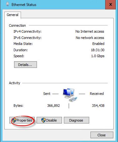 Как настроить статический ip адрес в Windows Server 2016 Technical Preview 3-04