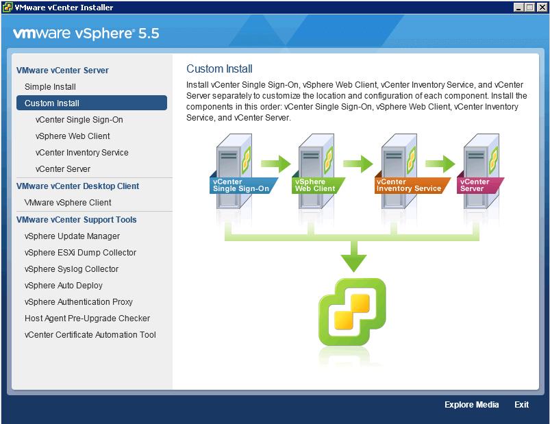 +как установить vmware vcenter converter