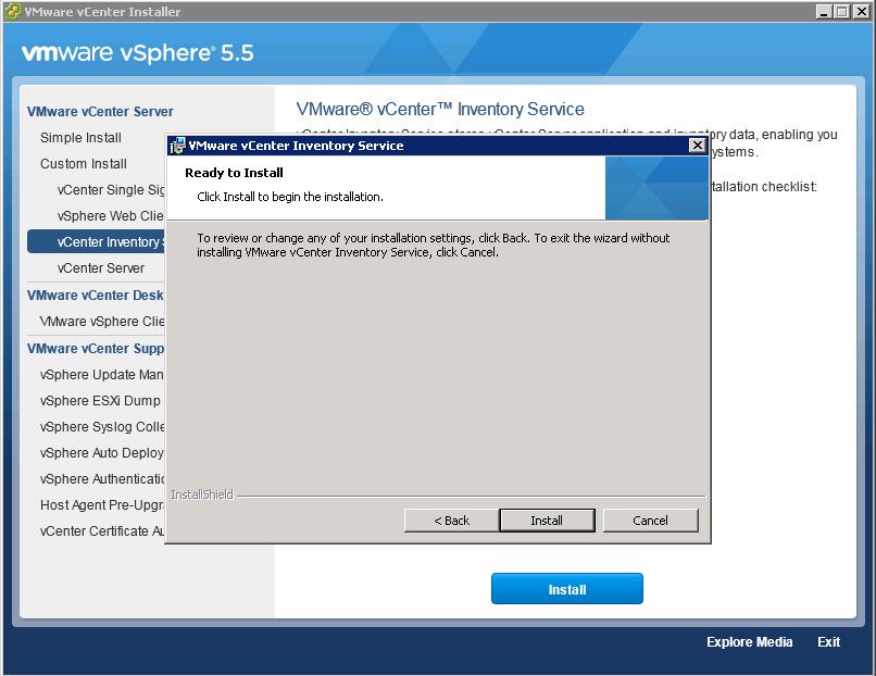 установка vcenter 6.0