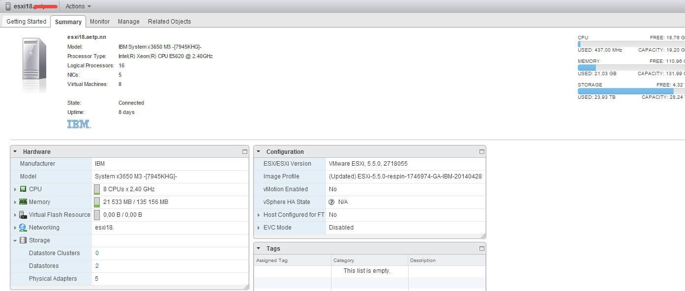 Как подключить ISCSI диск с Open-e 7 в VMware ESXI 5.5 через web client-02