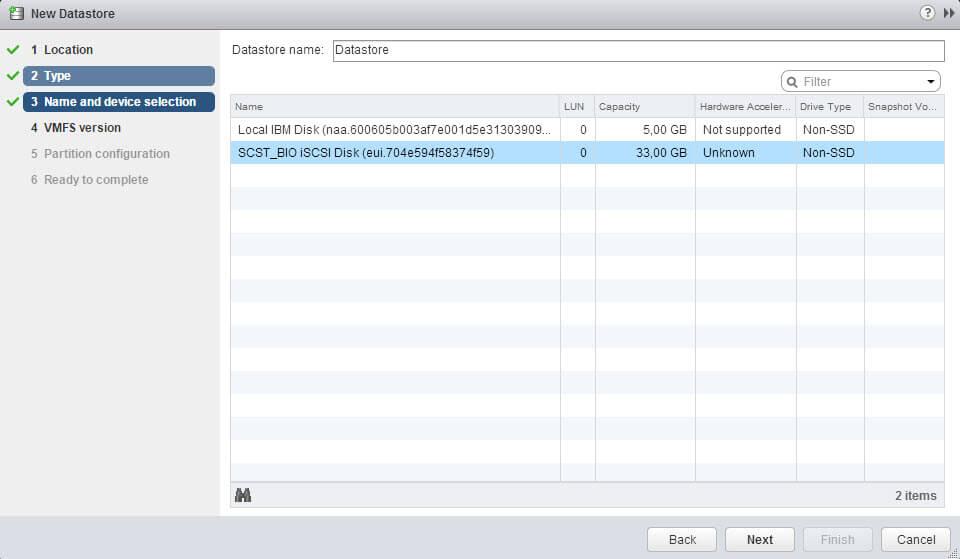 Как подключить ISCSI диск с Open-e 7 в VMware ESXI 5.5 через web client-06