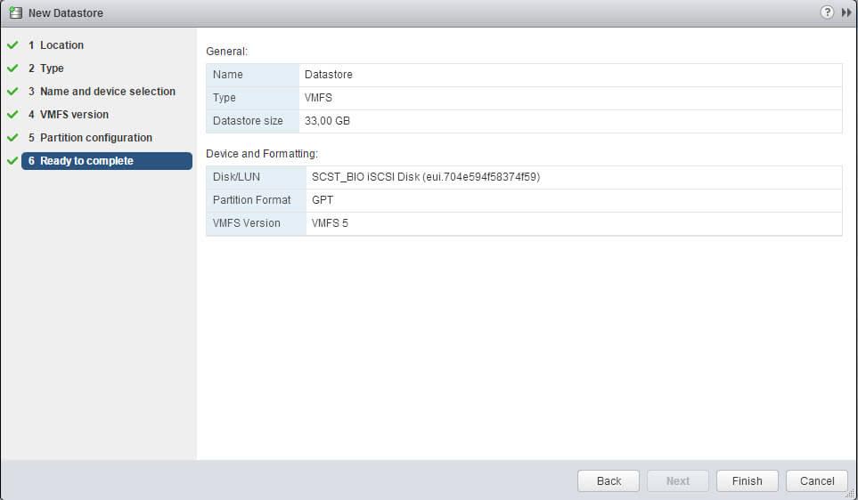Как подключить ISCSI диск с Open-e 7 в VMware ESXI 5.5 через web client-09