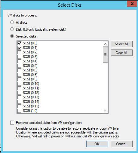Как сделать резервную копию отдельного диска виртуальной машины в Veeam Backup Replication 7-06
