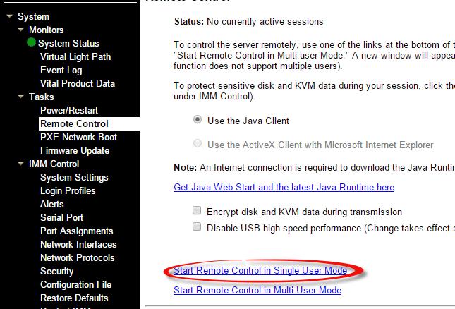 Как смонтировать iso в Virtual Media CDROM на сервере IBM System x3650 M3-02