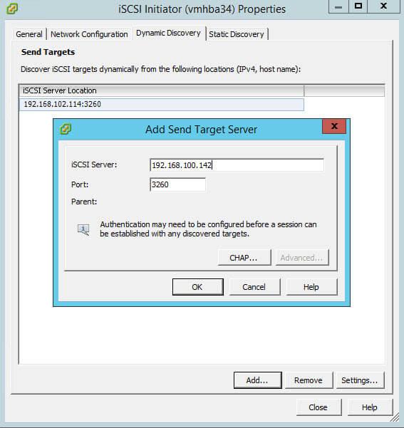 Как создать и подключить ISCSI диск из Windows Server 2008 R2 в VMware ESXI 5.5-31