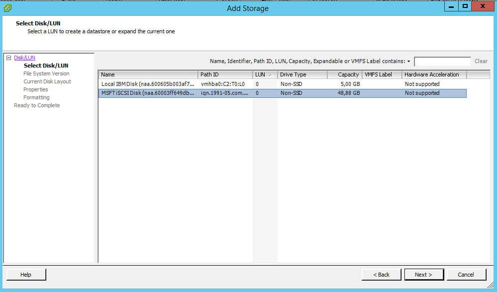 Как создать и подключить ISCSI диск из Windows Server 2008 R2 в VMware ESXI 5.5-36