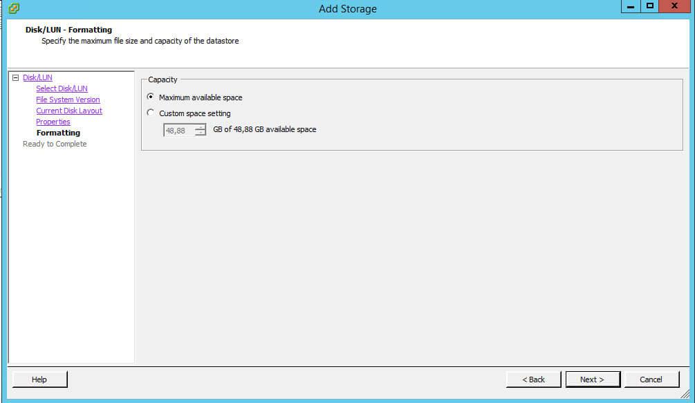 Как создать и подключить ISCSI диск из Windows Server 2008 R2 в VMware ESXI 5.5-40