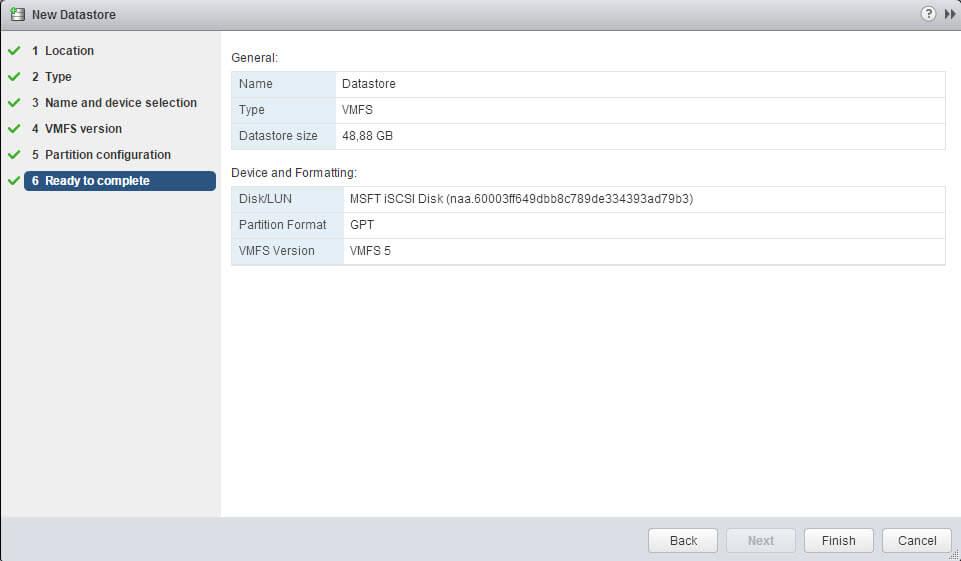 Как создать и подключить ISCSI диск из Windows Server 2008 R2 в VMware ESXI 5.5-50