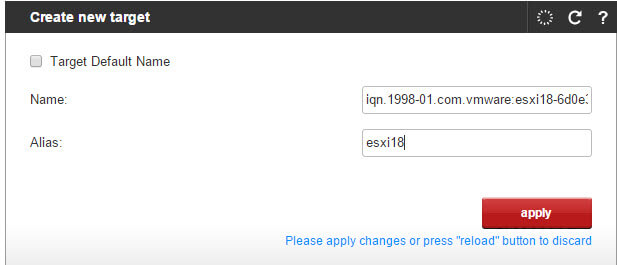 Как создать и подключить ISCSI диск с Open-e 7 в VMware ESXI 5.5-06