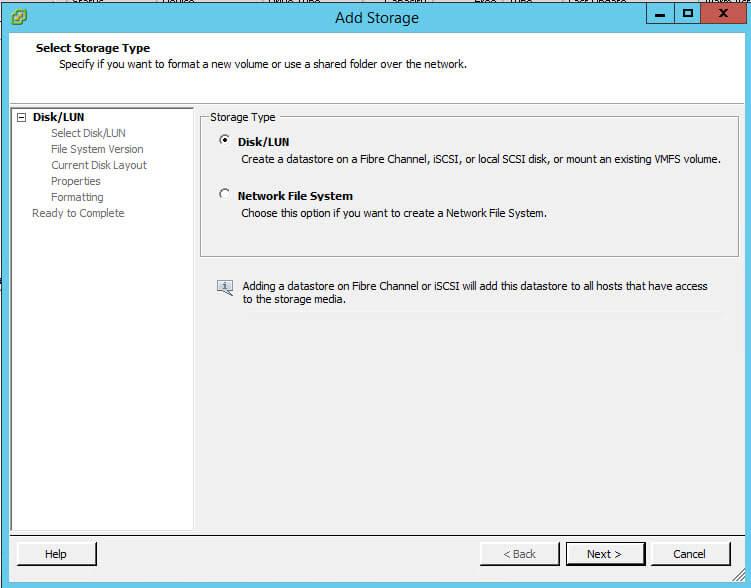 Как создать и подключить ISCSI диск с Open-e 7 в VMware ESXI 5.5-17