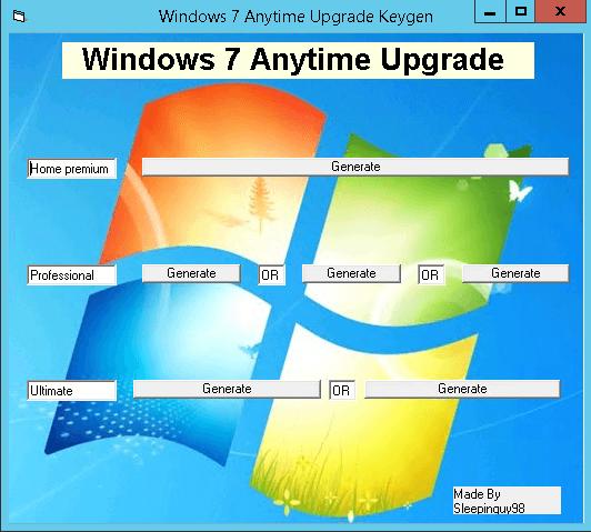 Как windows 7 home обновить до professional или ultimate 1 часть-10