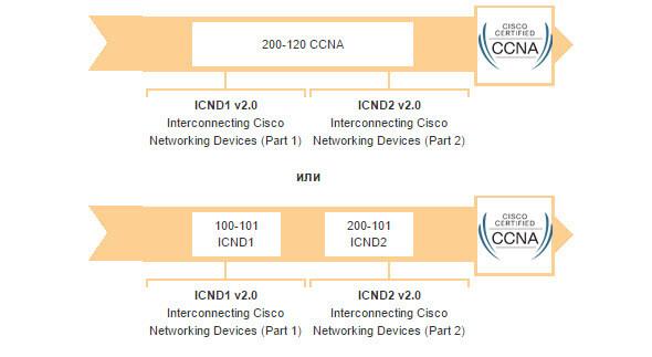 Подготовка к Cisco CCNA экзамен 200-120 CCNA-01