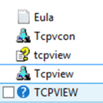 Утилита TCPView. Как определить какие порты слушает ваш компьютер. Сетевые утилиты 5 часть