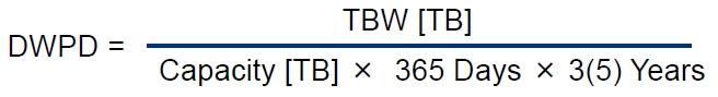 Формула DWPD