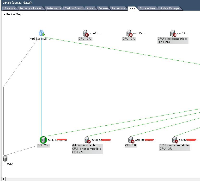 карта vmotion