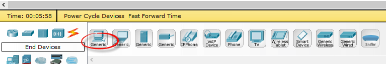 Как настроить локальную сеть в Cisco packet tracert-01